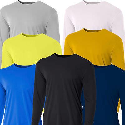 Men's Long Sleeve Loose Fit Rash Guard Surf Shirt Water Spor