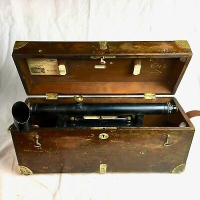 Vintage Keuffel Esser Ke Transit Level Survey Instrument