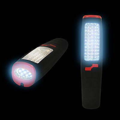 37 LED Arbeitslampe Werkstattlampe Werkstattleuchte Handlampe Taschenlampe EAXUS