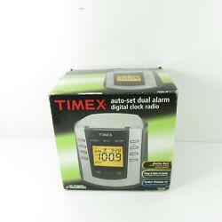 Timex Nature Sounds T300B Digital Tuning Alarm Clock AM FM Radio