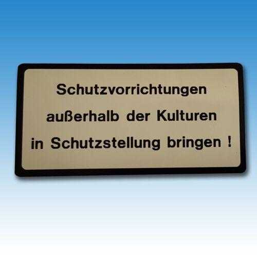Aufkleber für Überrollbügel / Sicherheitsbügel Holder A 40 A 50 elfenbein 015362 Foto 1