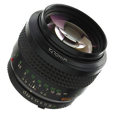 Minolta Md 85Mm 1 7 Lens
