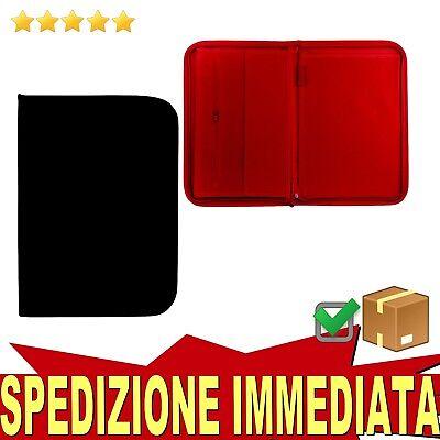 CARTELLA economica meeting formato A4 porta documenti portablocco zip (ZA4)