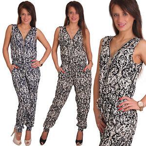Sexy-Viticcio-Overall-Cerniera-Lampo-tuta-tuta-intera-elasticizzato-pantaloni