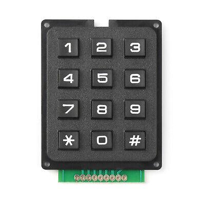 4 X 3 Matrix Array 12 Keys 43 Switch Keypad Small Keyboard Module For Arduino T