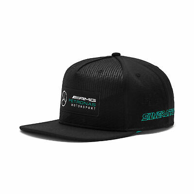 Mercedes AMG Petronas F1 Puma Snapback Cap Street Hat Adults Flat brim