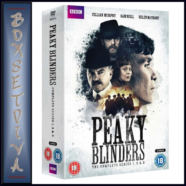 PEAKY BLINDERS - COMPLETE SERIES 1 2 & 3 *BRAND NEW DVD BOXSET***