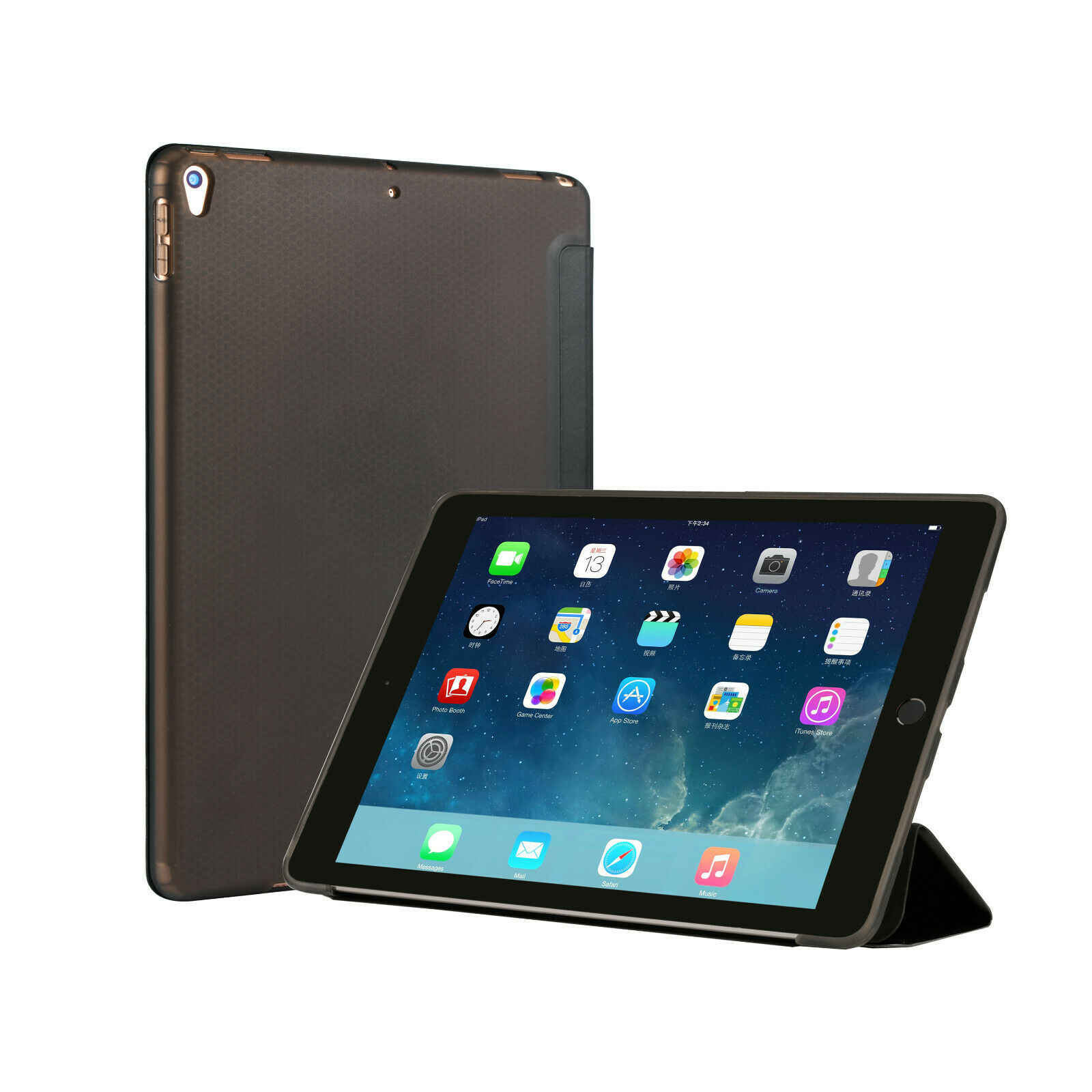 For Apple iPad Air 3 10.5 inch 2019 Smart Cover Soft Back Ca