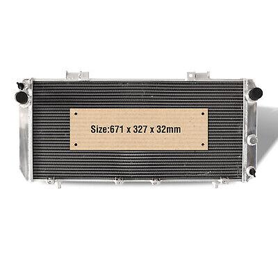 Alloy Aluminum Race Radiator fits TOYOTA MR2 SW20 2.0 TURBO N/A 90-99