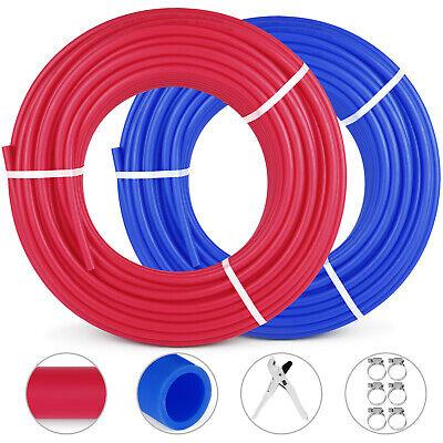 2 Rolls 1/2″300FT PEX Tubing Pipe Non-Barrier PEX Pipe Rad