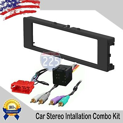 Car Stereo Radio Dash Installation  Kit with Harness Audi A4 A6 A8 TT 1996-2001 ()