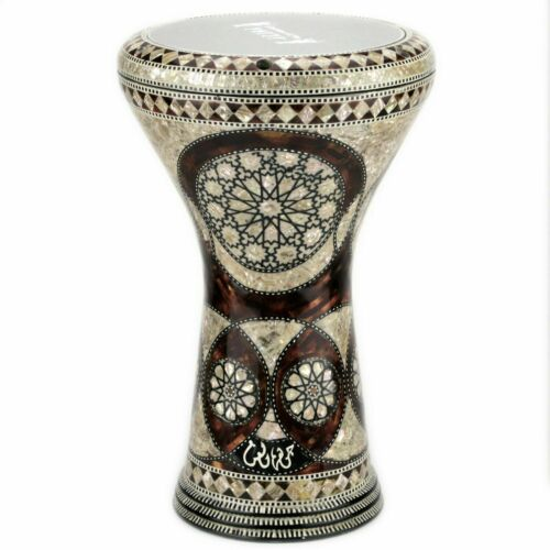 M20 Drum Darbuka tabla doumbek mother of pearl Gawharet El Fan free bag 17 inch