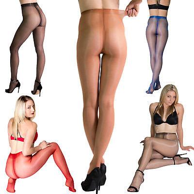 Cecilia De Rafael Eterno 15 Denier Glossy Tights Shiny Pantyhose Nylons Hosiery