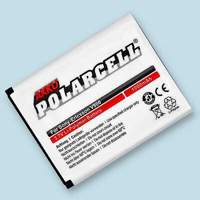 PolarCell Akku für Sony Ericsson W705 Z320i Z530i Z610i P1i BST-40 Batterie...