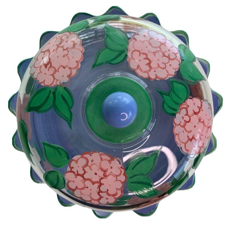 Floriware & Jardinware Cake Plate Hydranga Dome Lid