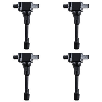 Ignition Coil Set of 4 for Various Nissan Infiniti fits UF-549