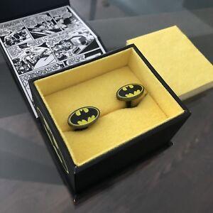 BATMAN Logo Cufflinks - Boutons de manchette