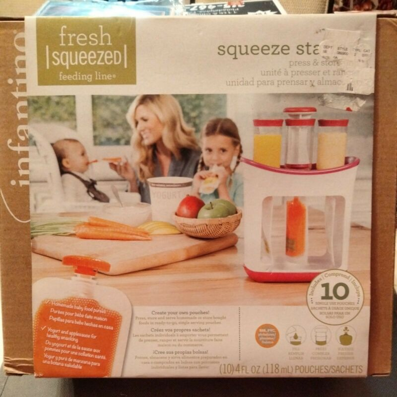 Infantino Squeeze Station Baby Food Maker: brand new. Unopened