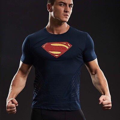 Justice League Superman Tee kurz Sleeve Cosplay sportlich T-shirt Karneval Party