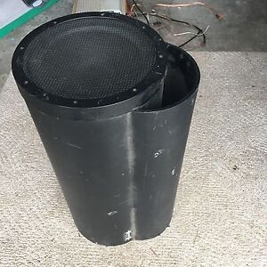 """10"""" Bazooka Sub with kenwood amp and 4channel spkr amp"""