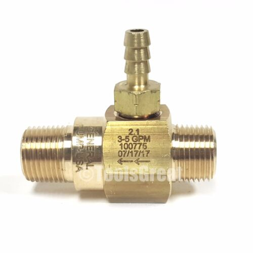General Pump 3-5 gpm High-Draw Fixed Rate Chemical Injector 100775