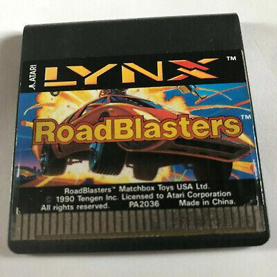 RoadBlasters / Cart Only / Atari Lynx Game
