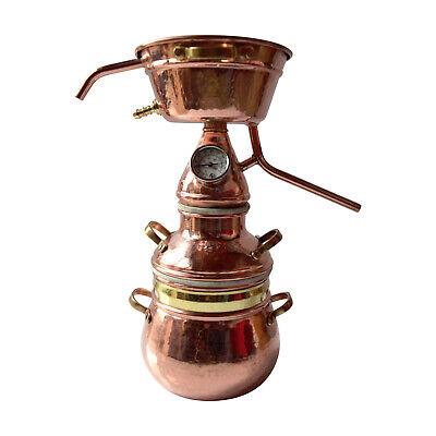 2-Liter Alquitara mit praktischem Festsieb Hydrolate - Destille 2L