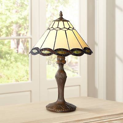 (Tiffany Style Accent Table Lamp 18 1/2