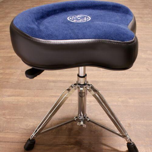 Roc-n-Soc Drum Throne Nitro Hydraulic Rider - Original Saddle Seat Blue NR O-B