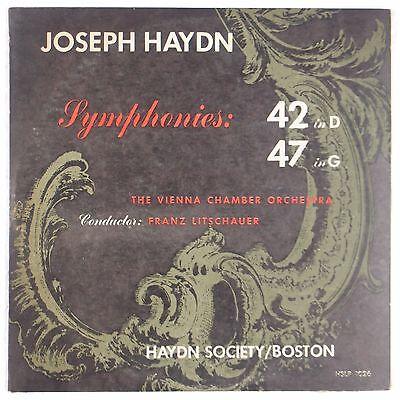 HAYDN: Symphony 42, 47 VIENNA CHAMBER ORCHESTRA 50s HAYDN SOCIETY lp