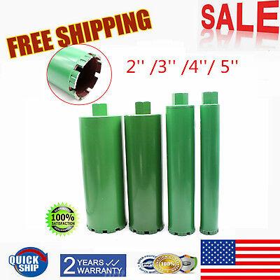 4pcsset Wet Diamond Core Drill Bit 23 4 5 Fit Concrete Premium Green