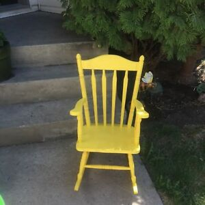 Yellow small rocker