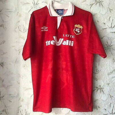 Ancona 1905 Home football shirt 1992 - 1993 Umbro Soccer Jersey Original?  image