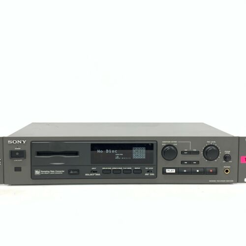 Sony MDS-E58 Minidisc MD Deck Player Recorder Audio from Japan - Working [TGJ]