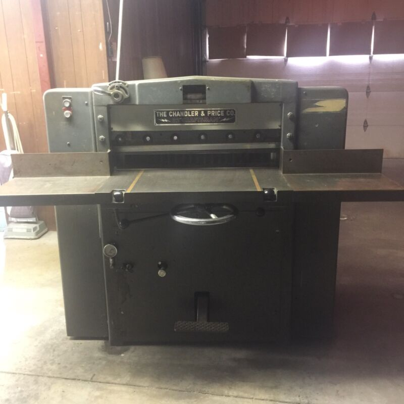 """32"""" Hydraulic Commercial Paper Cutter"""