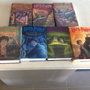 Complete Harry Potter Collection in hardcover