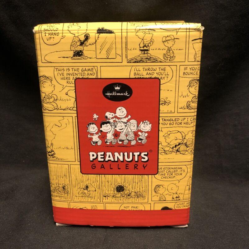 Hallmark Firefighter Pigpen Peanuts Gallery Figurine