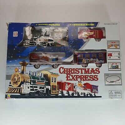Christmas Express Train Set Xmas Decoration