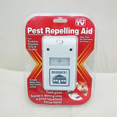 High Quanltiy Riddex Plus Electronic Pest Rodent Control Repeller 220V Plug WF t