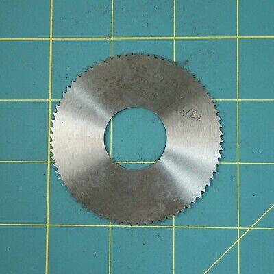 1one Slitting Slotting Saw Blade 0.0415 X 2-34 Hss Machinist Cutting Tool