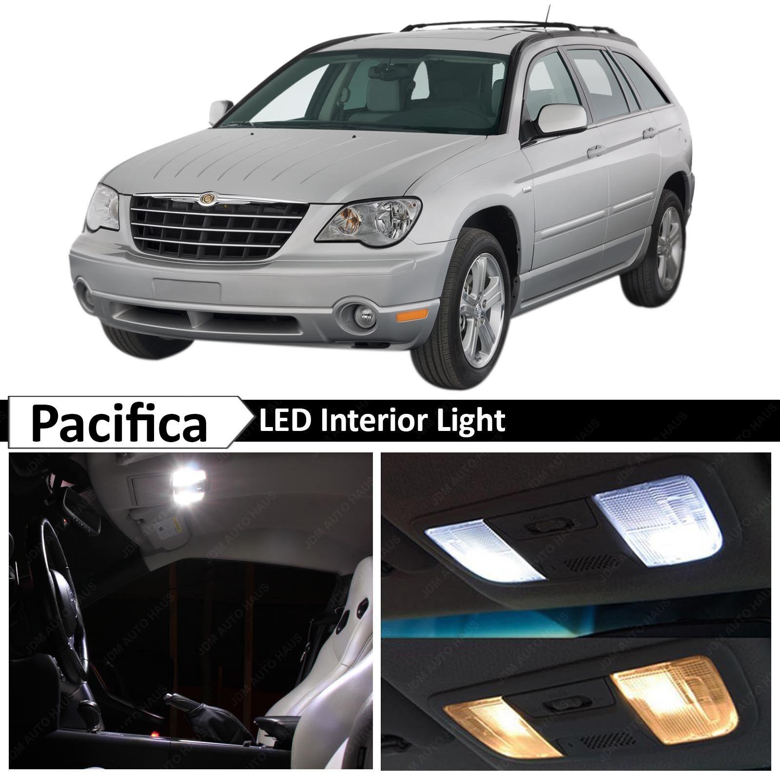 14x White Interior LED Lights Package Kit For 2004-2008