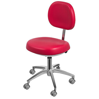 Dental Dentists Chair Doctors Stool Mobile Chair Microfiber Leather