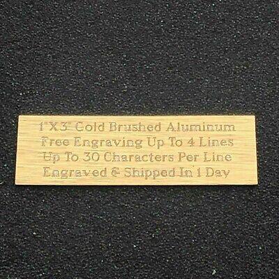 Custom Engraved Plate 1