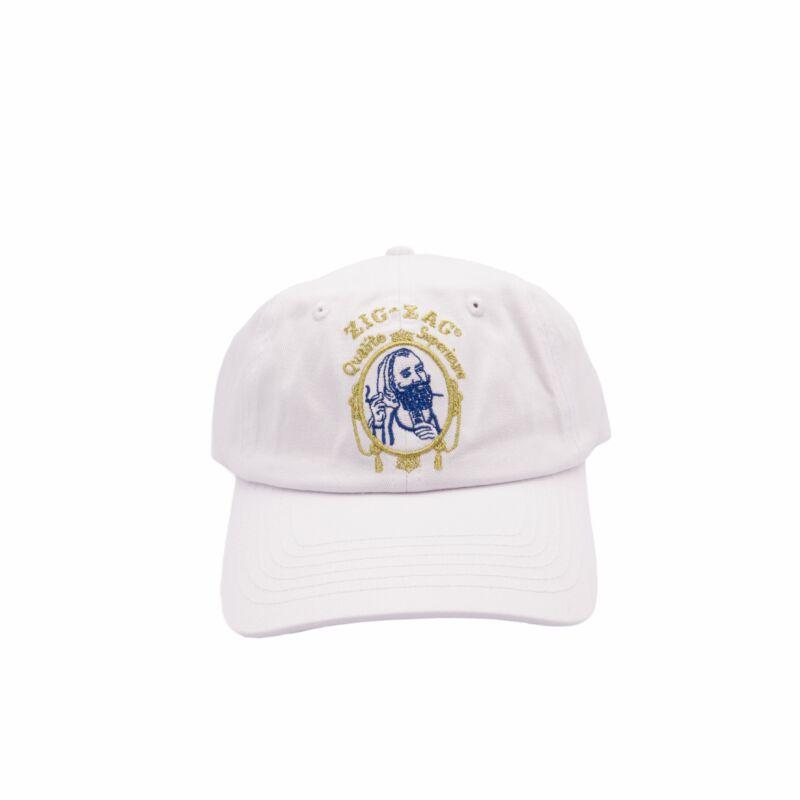 Zig-Zag Classic Hat - White