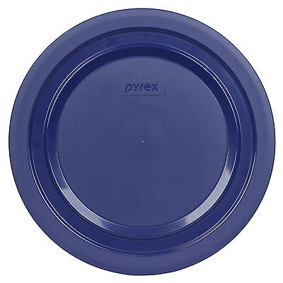 Pyrex 7404-PC 4.5 Quart Dark Blue Plastic Storage Lid Cover New for Glass Bowl