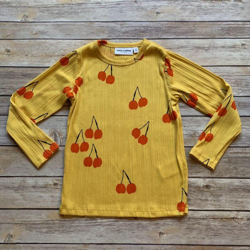 Mini Rodini Cherry LS T-Shirt, 104-110 Cm