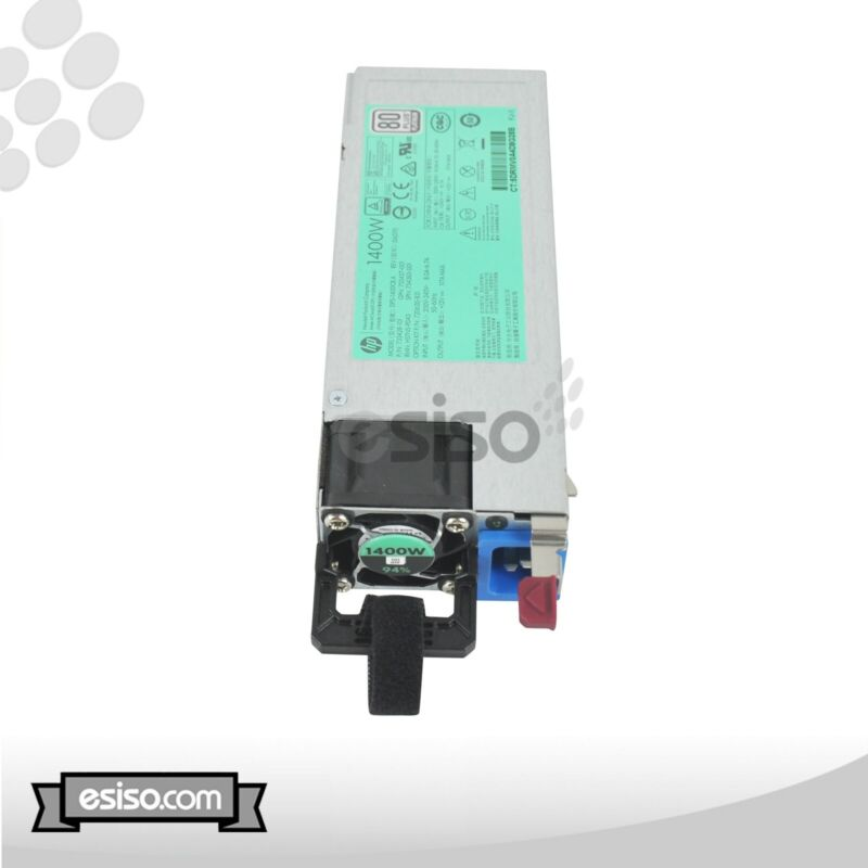 733428-101 HP 1400W COMMON SLOT PLATINUM PLUS HOT PLUG POWER SUPPLY