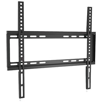 TV LCD LED Wall Mount Bracket Samsung Vizio Sony JVC 32 37 39 40 42 47 49 50 55