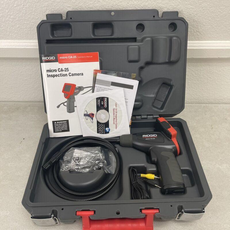 Ridgid Micro CA-25 Inspection Camera *LIGHTLY USED*
