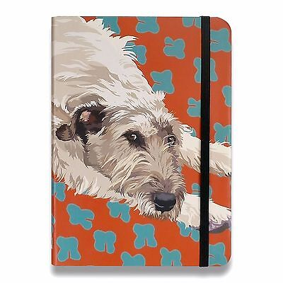Lurcher Notebook Gift/Present Wolfhound Greyhound Deerhound Dog